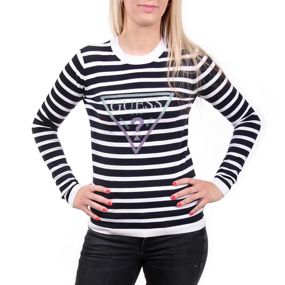 Guess dámský pruhovaný tenký svetr