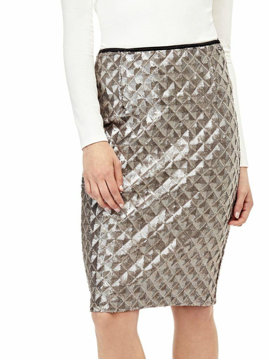 e70061bf88b6 Guess dámská sukně s flitry - Mode.cz