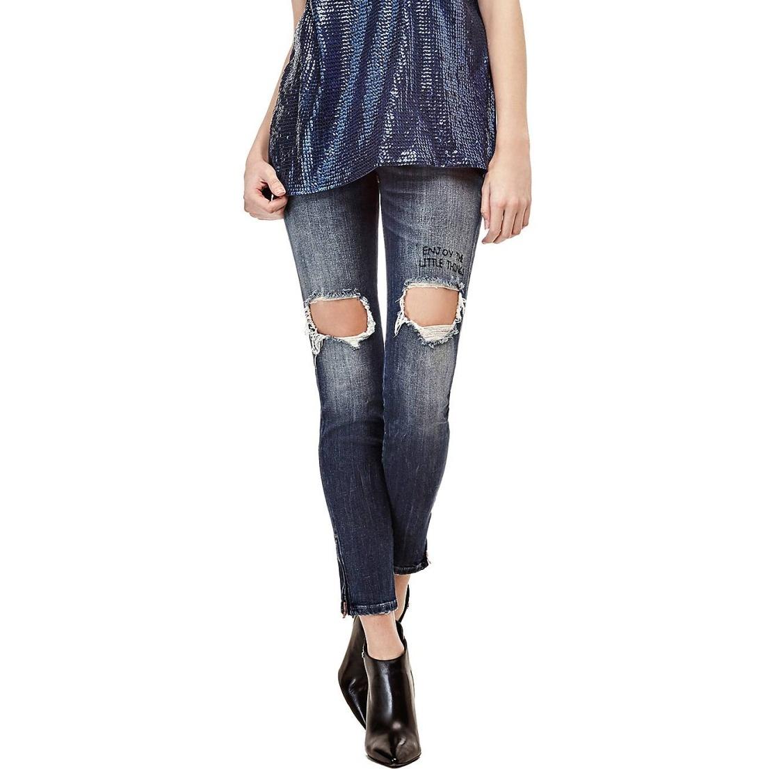 Guess dámské modré džíny