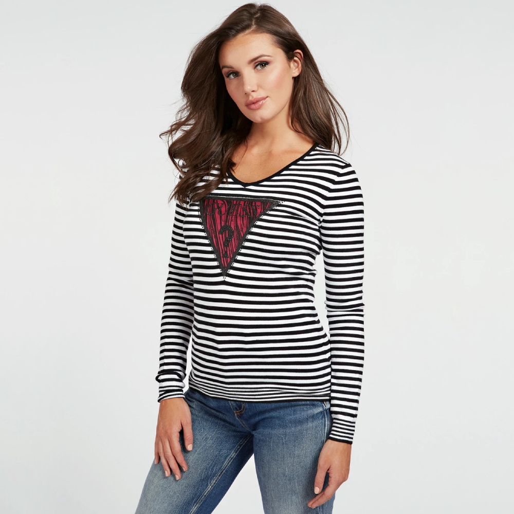 Guess dámský pruhovaný svetr