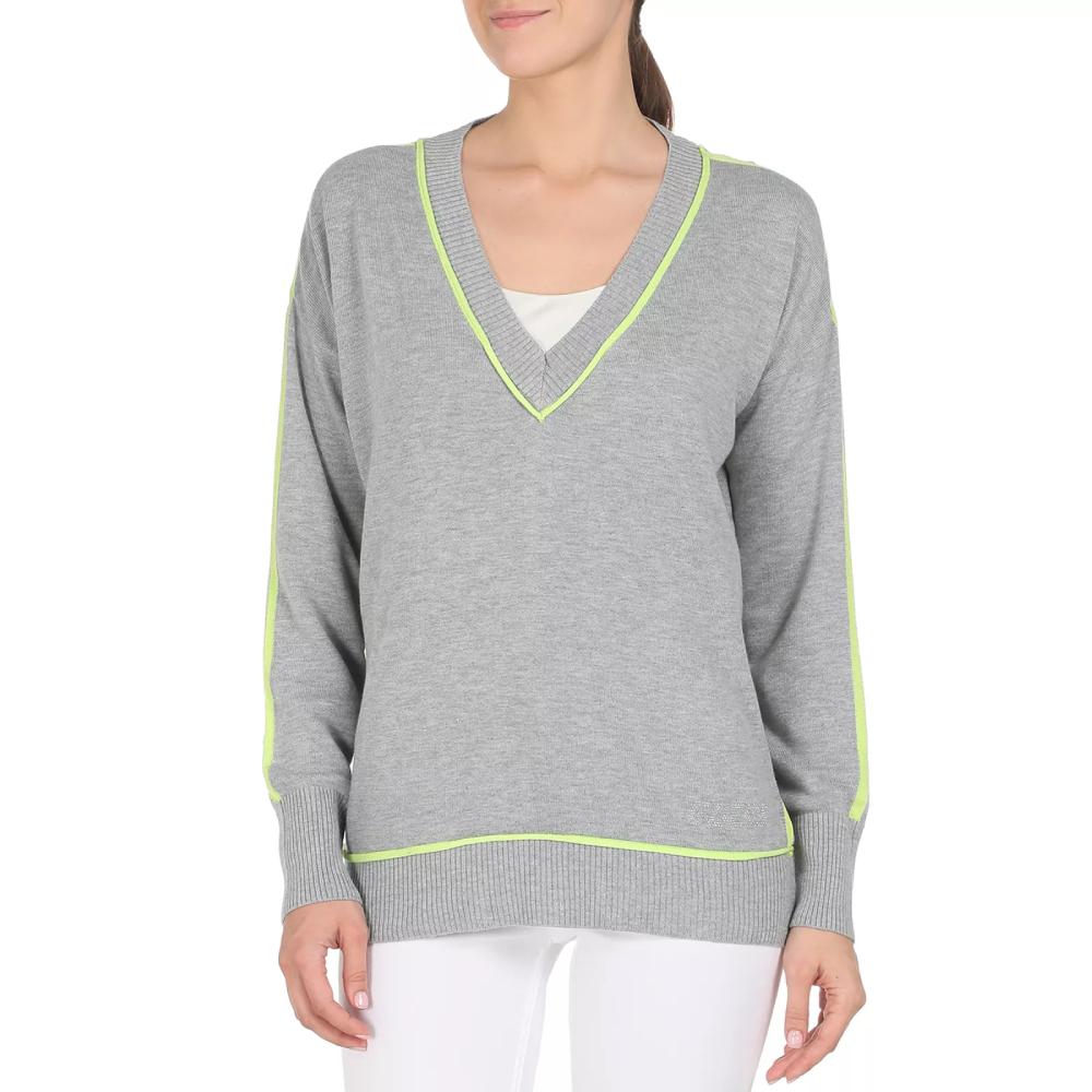 Guess dámský šedý svetr - M (SHGY)
