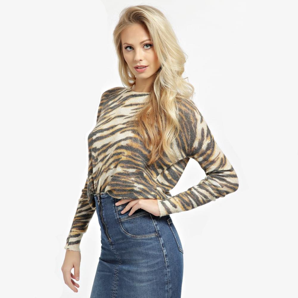 Guess dámský tygrovaný svetr