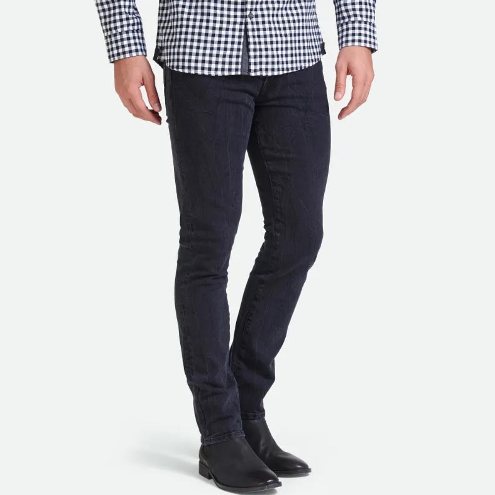 Guess pánské černé džíny Pono