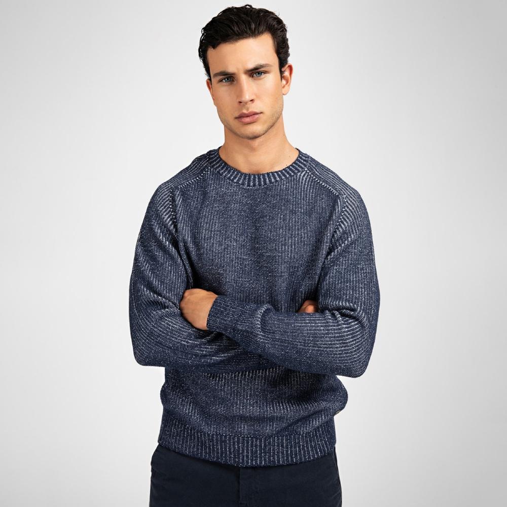 Guess pánský modrý svetr