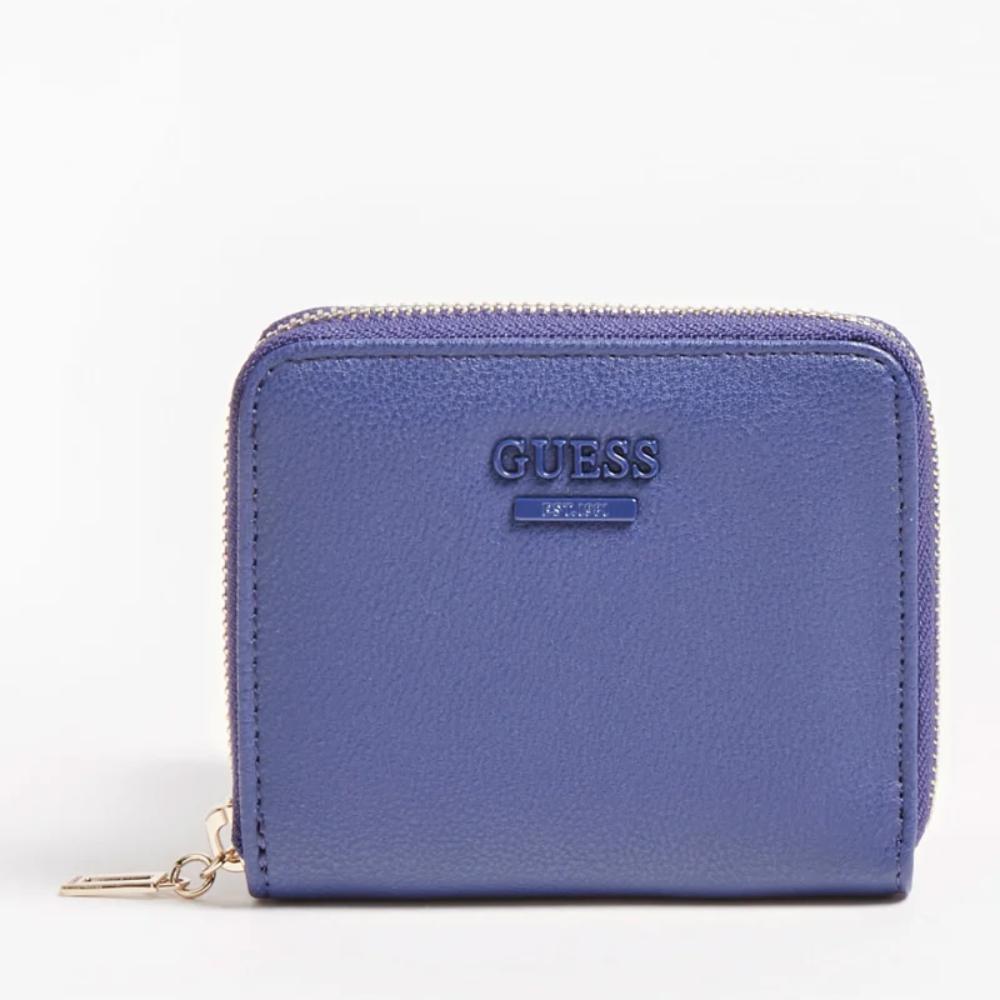 Guess dámská modrá peněženka