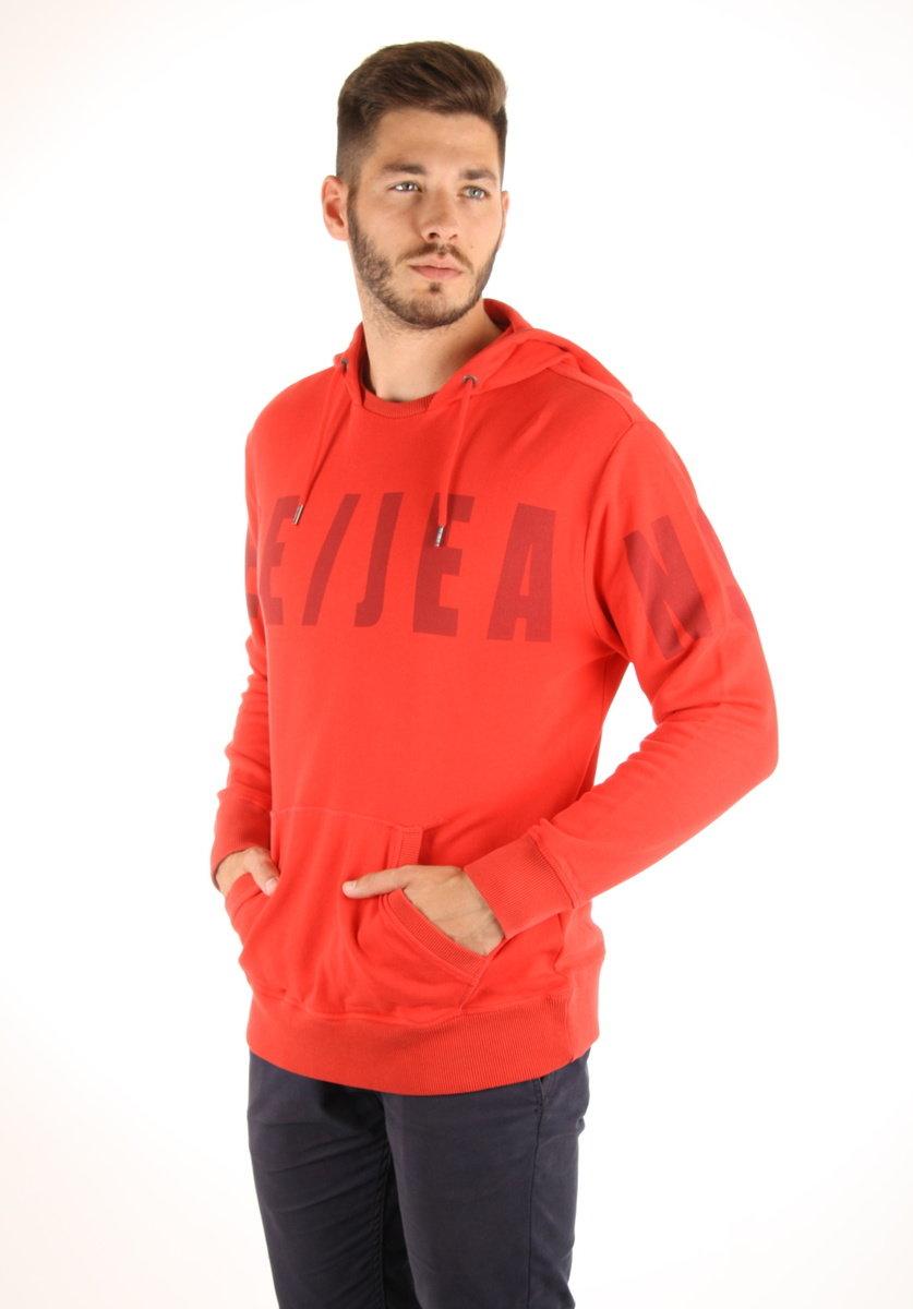 Pepe Jeans pánská červená mikina Corpid - Mode.cz b2c31c3d8a