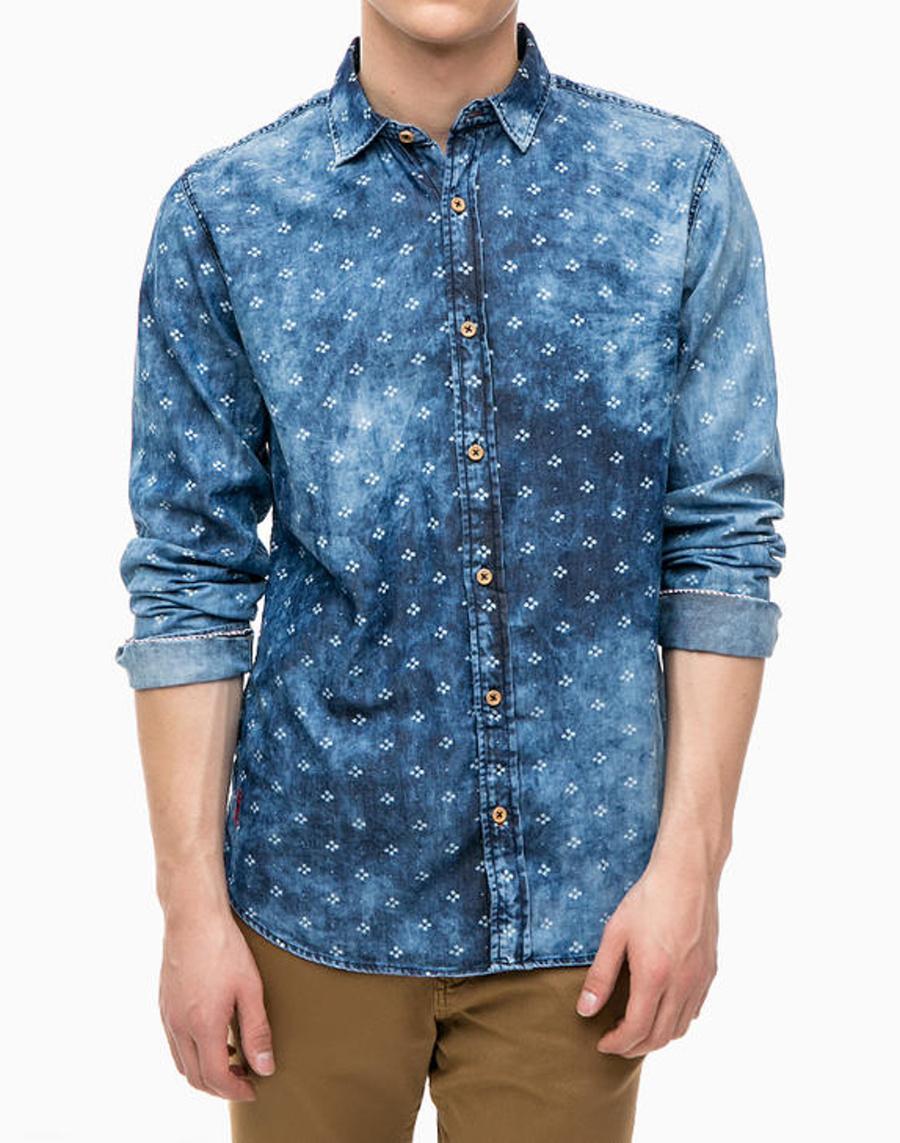 545afe781d6 Pepe Jeans pánská modrá košile - Mode.cz