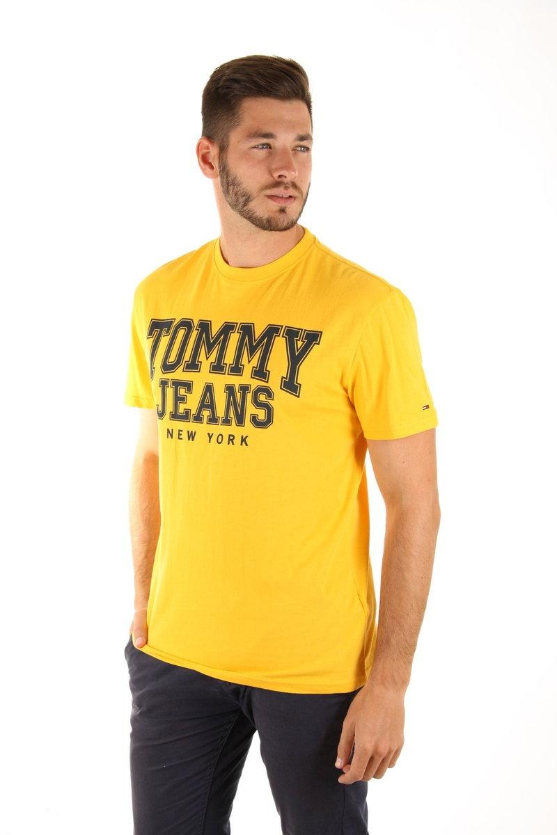 d4abfb0d87 Tommy Hilfiger pánské žluté tričko Essential