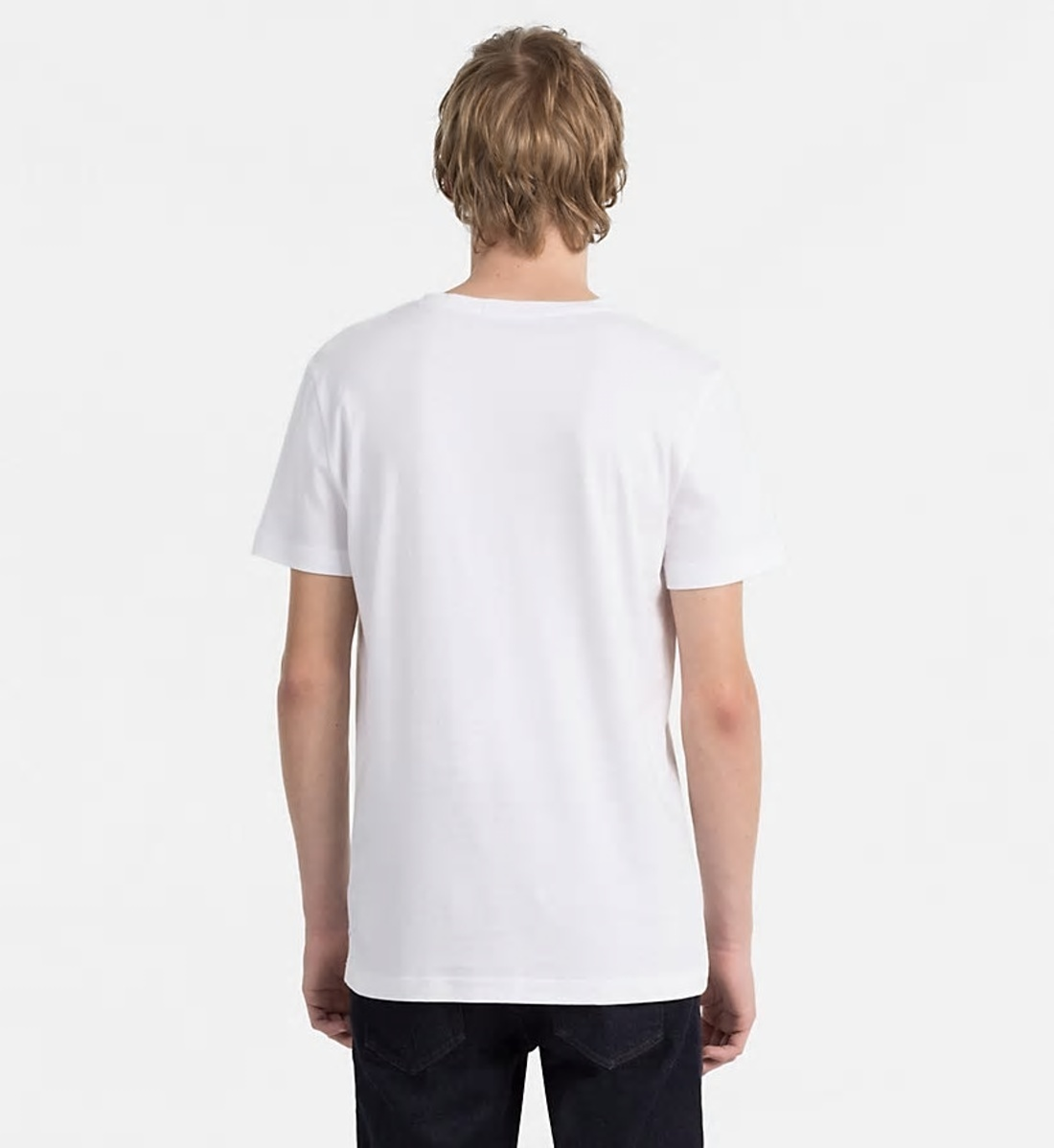Calvin Klein pánské bílé tričko Typoko - Mode.cz 2fca48b632