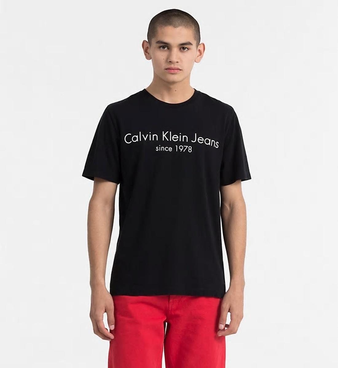 e67e558151b Calvin Klein pánské černé tričko - Mode.cz