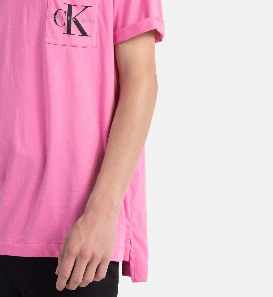 421c7e7a2ed0 Calvin Klein pánské růžové tričko - Mode.cz