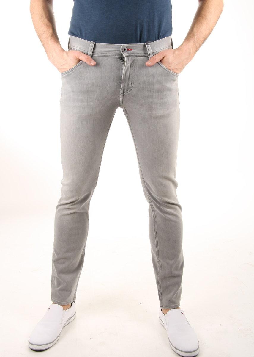 Tommy Hilfiger pánské šedé džíny Bleecker - Mode.cz acf4565a56