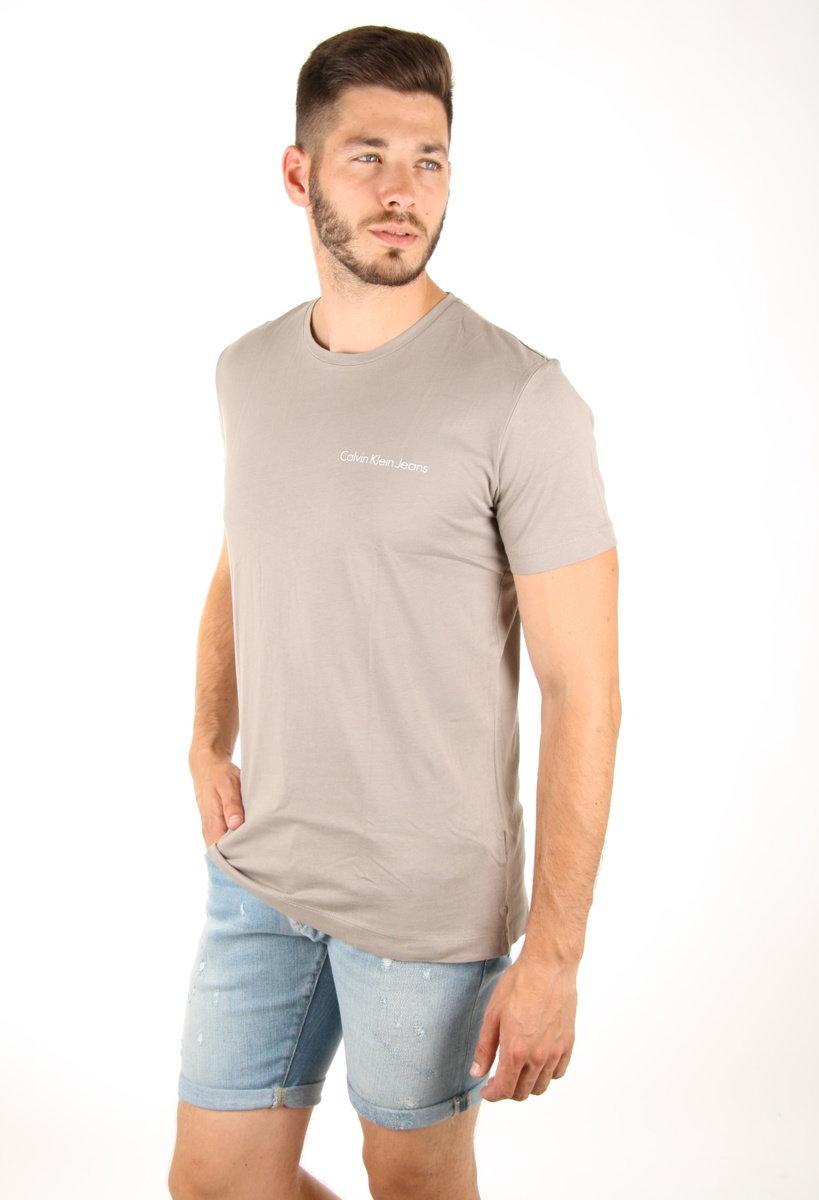 Calvin Klein pánské šedé tričko - Mode.cz d9264cfef3