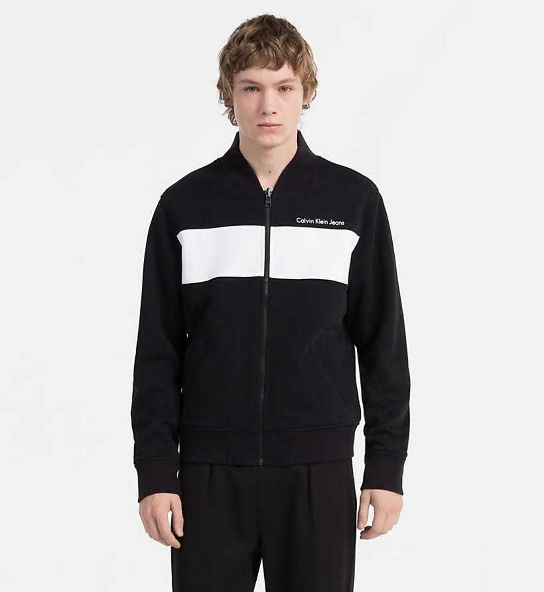 Levně Calvin Klein pánský oboustranný bomber - L (099)