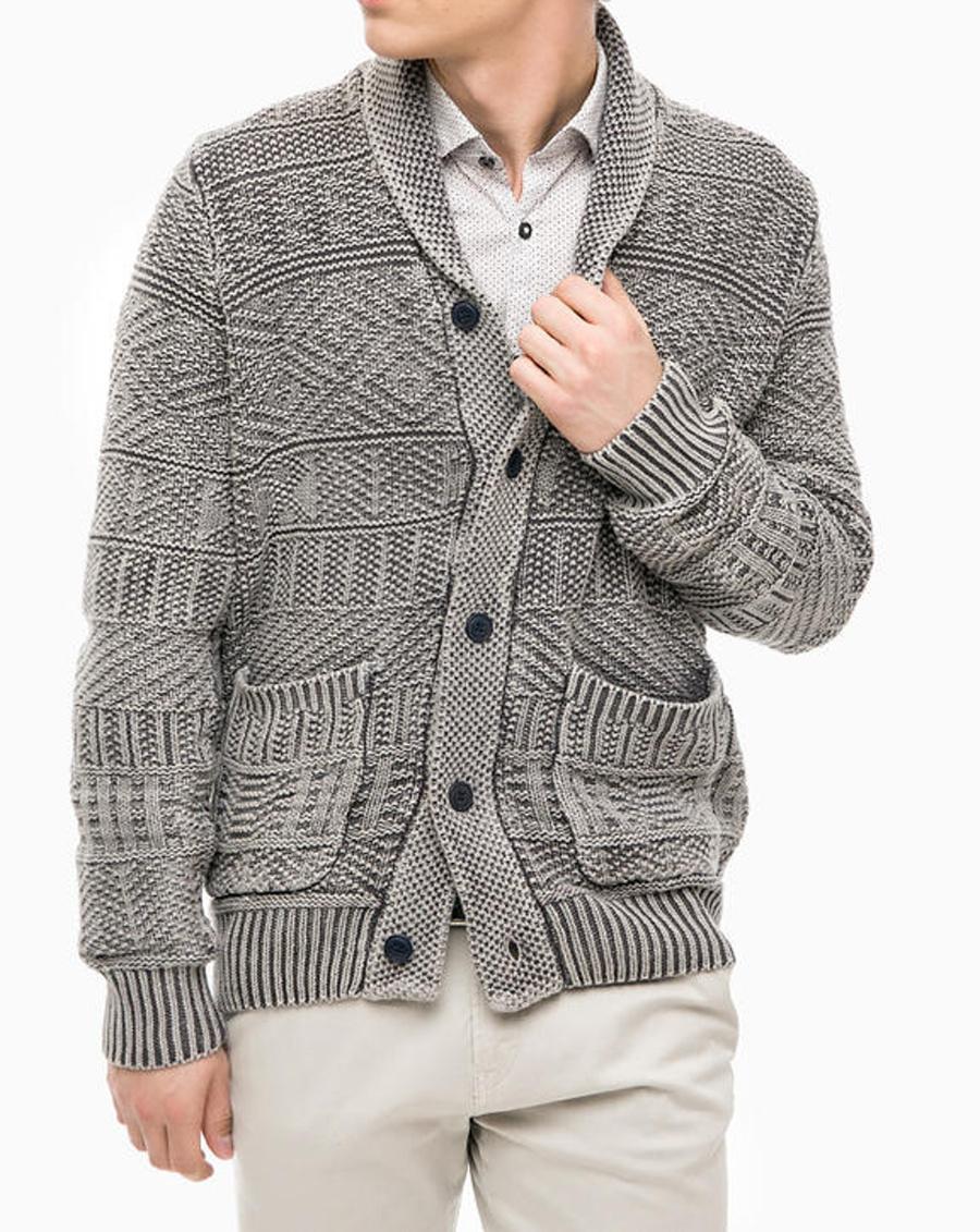 Pepe Jeans pánský šedý melírovaný svetr - Mode.cz ff5c9dc55a
