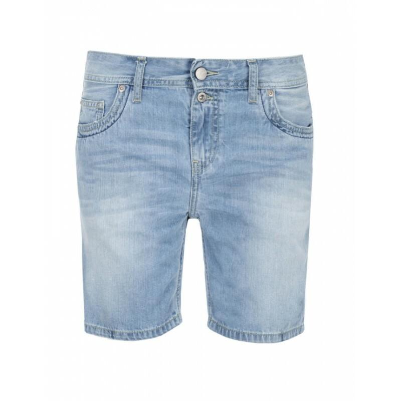 bef25716976 Pepe Jeans dámské světle modré šortky Jadin
