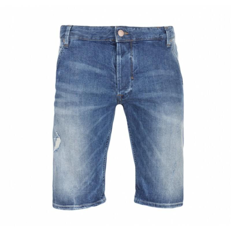 Pepe Jeans pánské modré šortky Walt 27f685ee0a