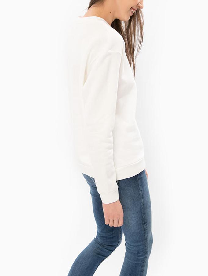 ff7dee2d53c9 Pepe Jeans dámská bílá mikina Lean - Mode.cz