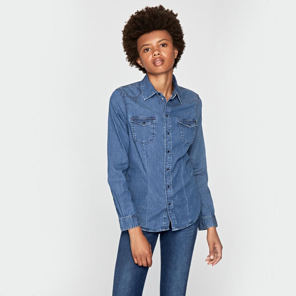 Pepe Jeans dámská džínová košile Rosie