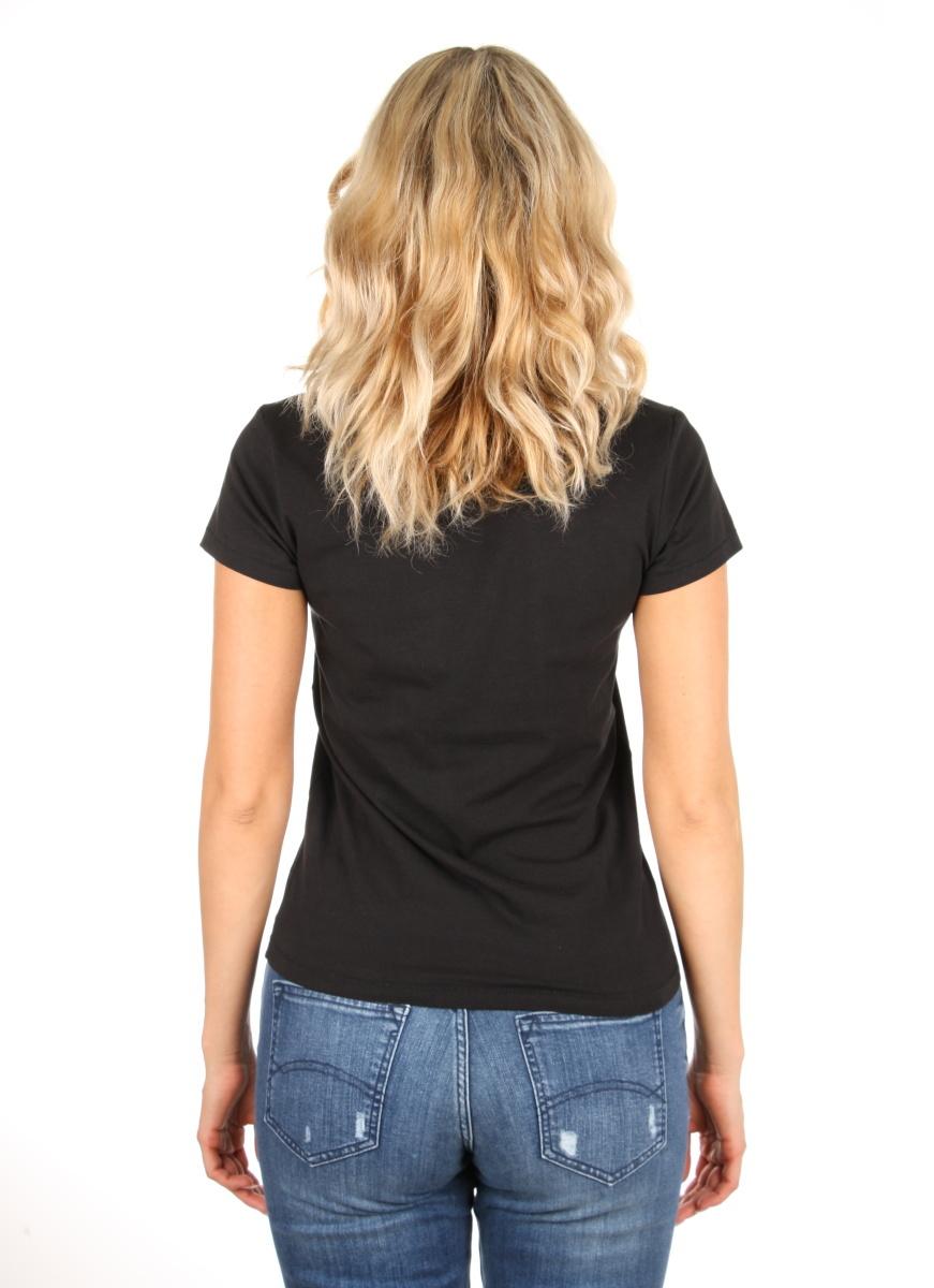 5c6a7e9d301 Pepe Jeans dámské černé tričko Rocco - Mode.cz