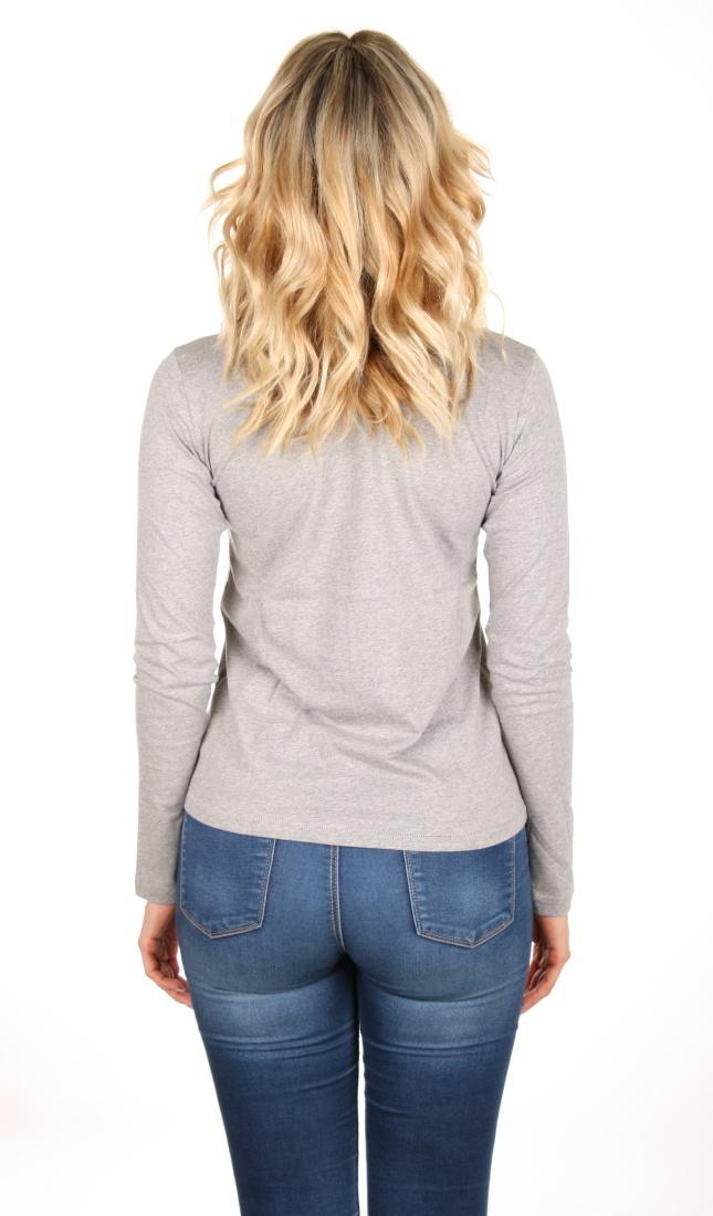 8f7508a3644 Pepe Jeans dámské šedé tričko Leona s dlouhým rukávem - Mode.cz