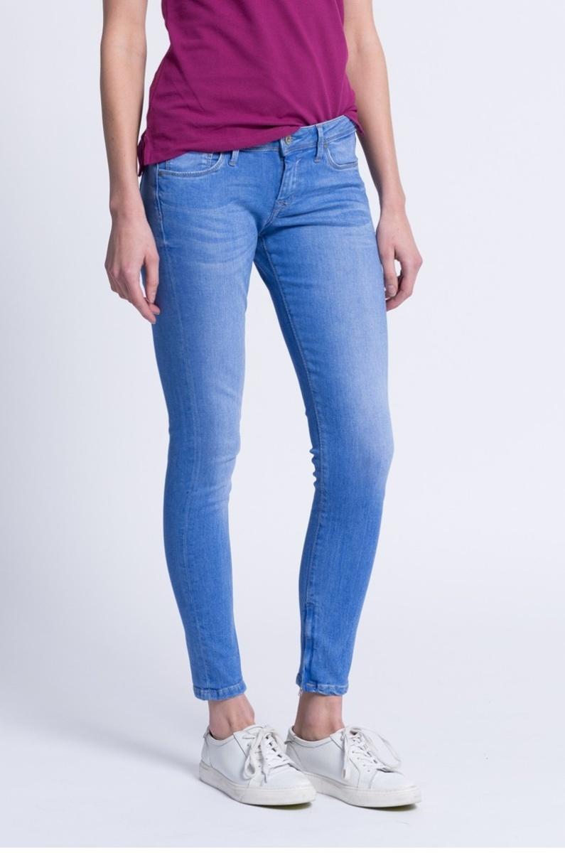 Pepe Jeans dámské modré džíny Cher - Mode.cz d17f403abc