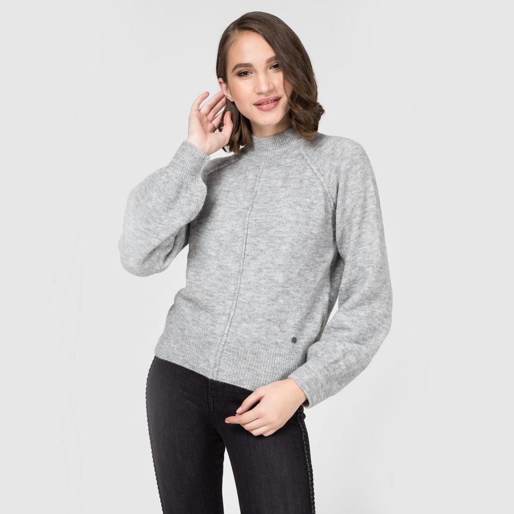 Pepe Jeans dámský šedý svetr Clotilde