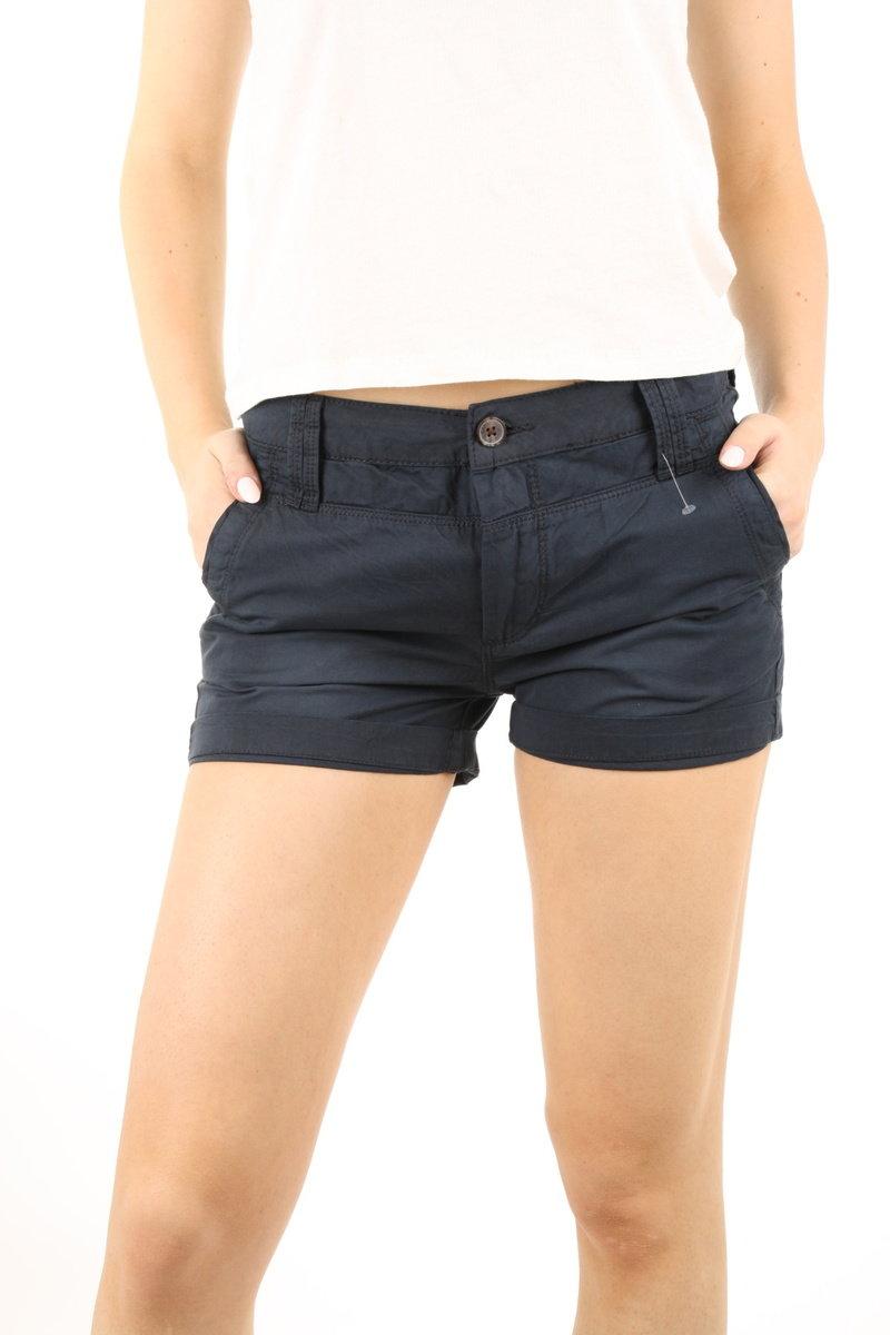 82eeb2eda68 Pepe Jeans dámské tmavě modré šortky Balboa - Mode.cz