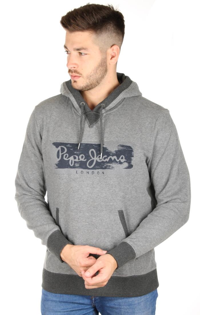 Pepe Jeans pánská šedá mikina Woodward - Mode.cz d798fc1f26