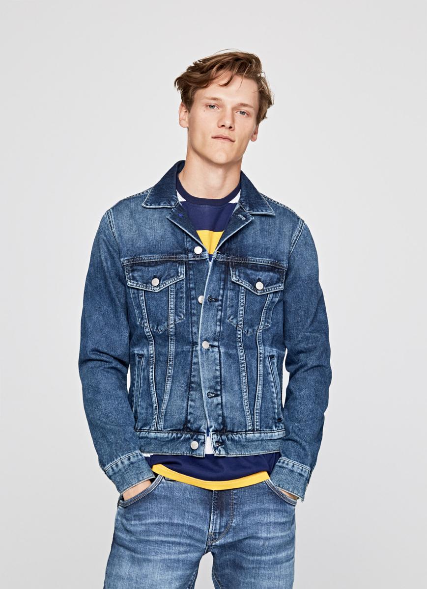 Pepe Jeans pánská džínová bunda Pinner