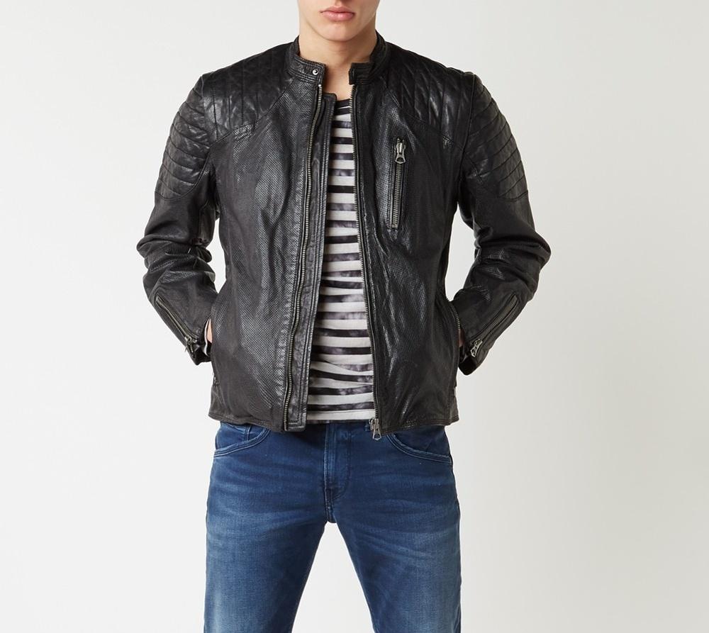 Pepe Jeans pánská kožená bunda Tosh