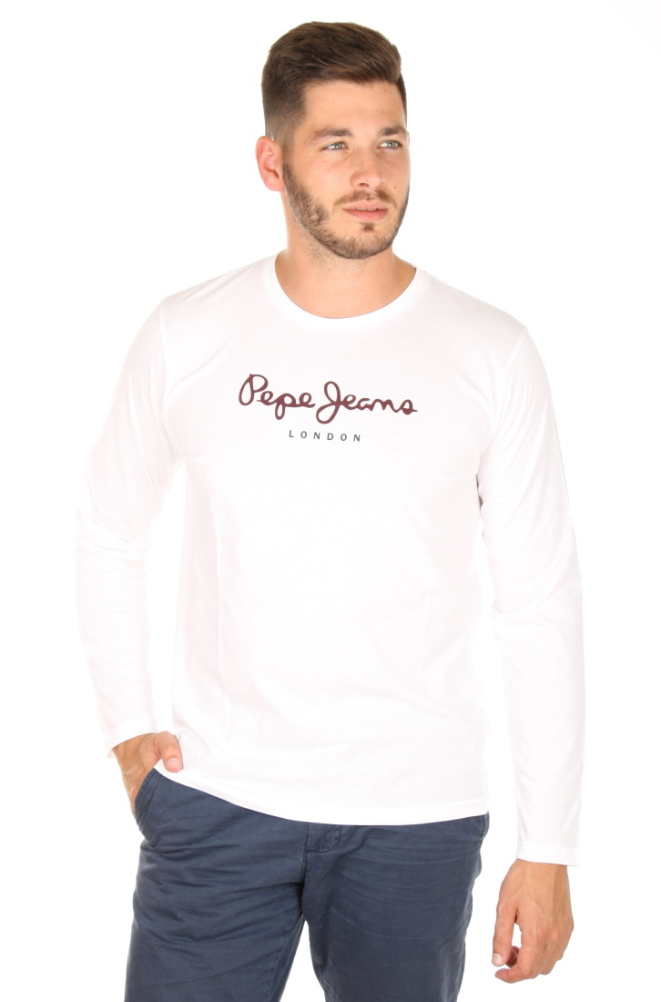 53f12a2fd54 Pepe Jeans pánské bílé tričko Eggo - Mode.cz