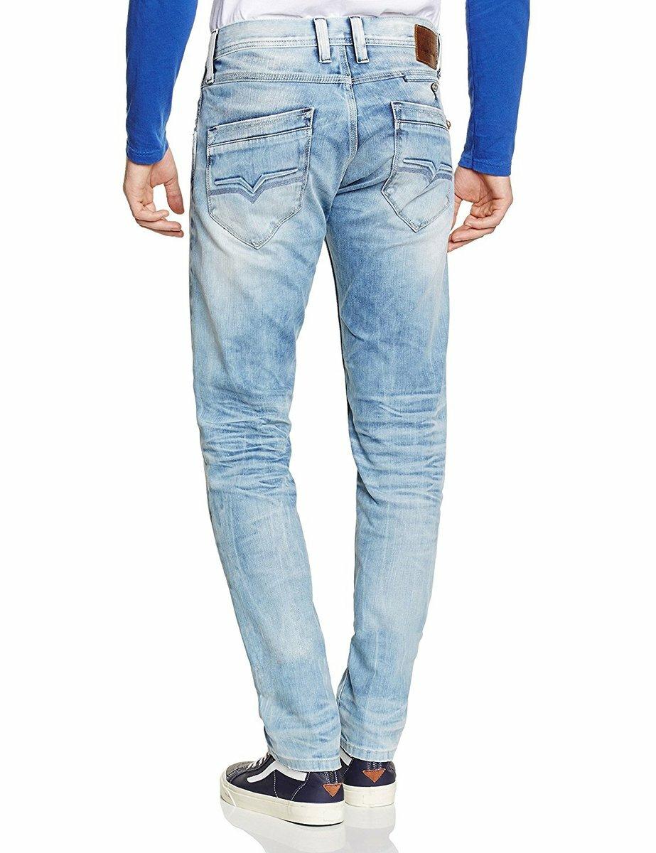 Pepe Jeans pánské světlé džíny Spike - KAZOVÉ - Mode.cz 92f55ee905