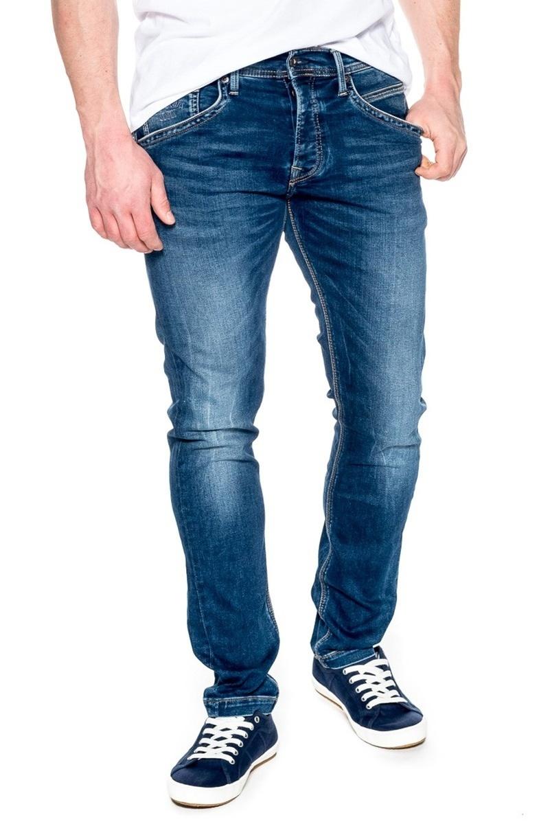 Pepe jeans pánské tmavě modré džíny Track - Mode.cz 831f23da21