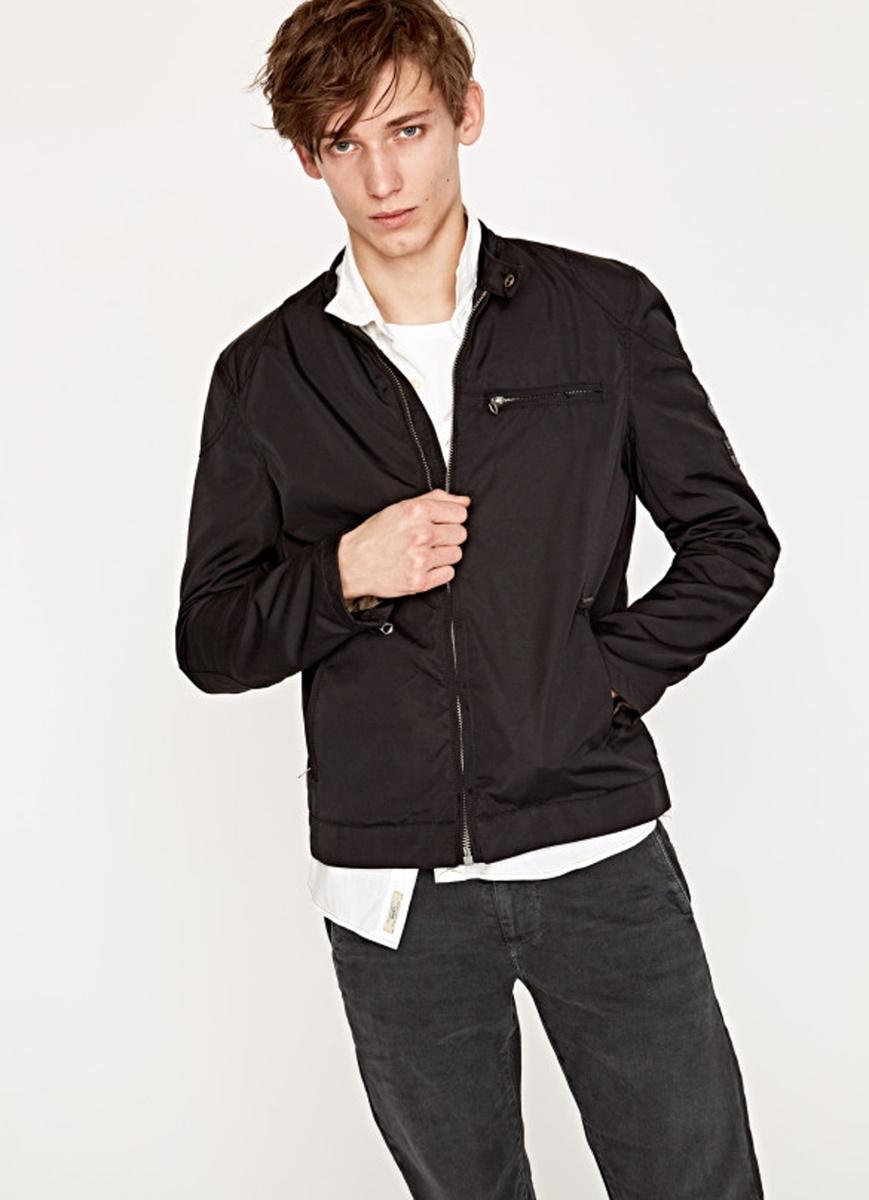 Pepe Jeans pánská černá bunda Falcon