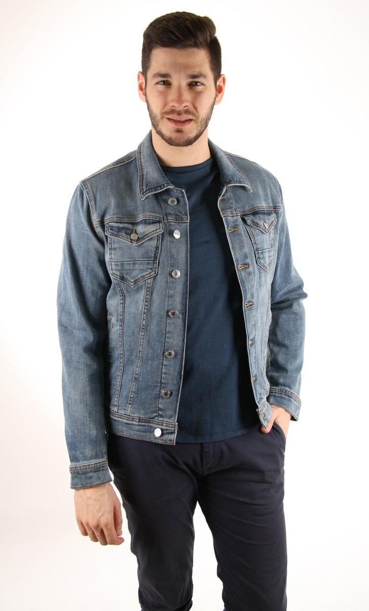 Guess pánská džínová bunda