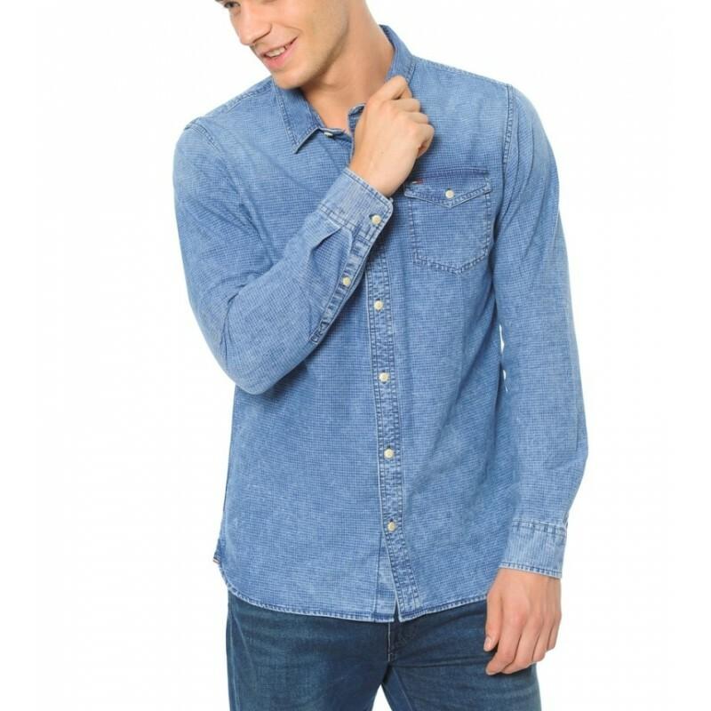Tommy Hilfiger pánská džínová košile Regular - Mode.cz 987007e8e0