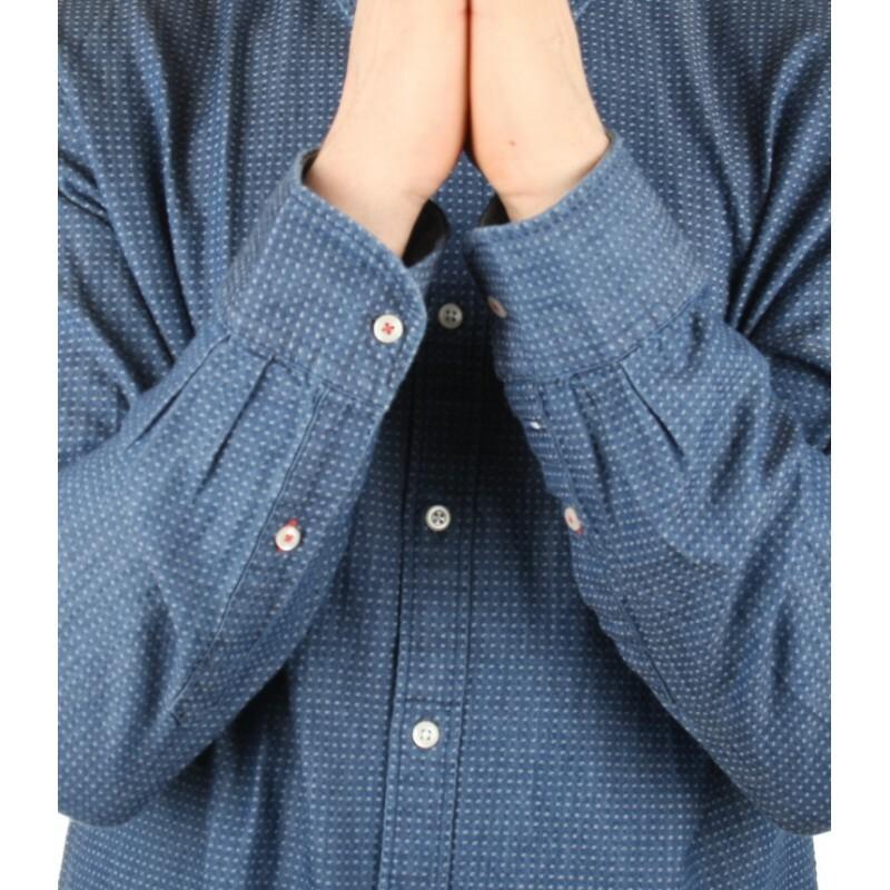 c06a27b4b79 Tommy Hilfiger pánská modrá košile Ika - Mode.cz