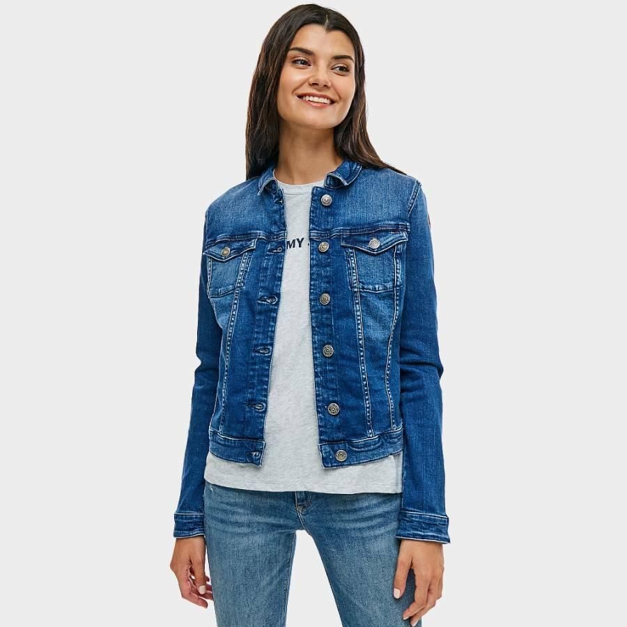 Tommy Hilfiger dámská džínová bunda Denim