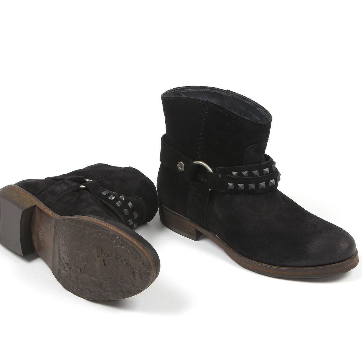 be1943c4849 Tommy Hilfiger dámské černé kožené boty Avive 7B - Mode.cz
