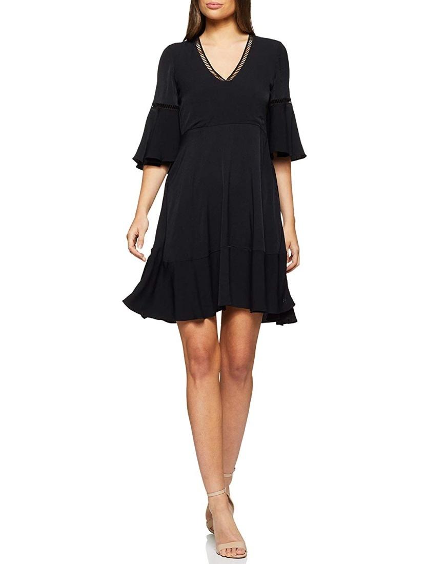 1e5e156bc10f Tommy Hilfiger dámské černé šaty Peggy - Mode.cz
