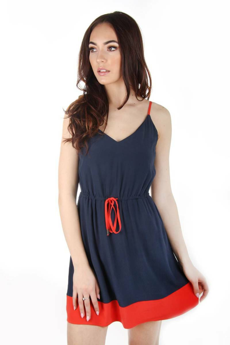 3f7751687cd9 Tommy Hilfiger dámské modré letní šaty Essential