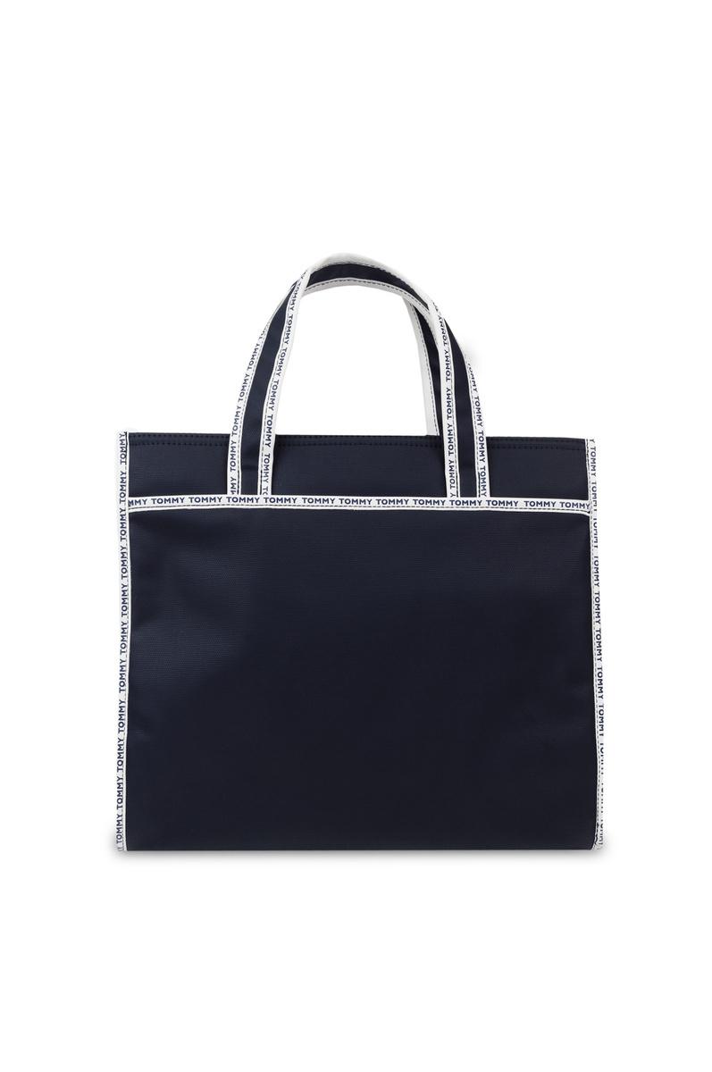 Tommy Hilfiger dámská tmavě modrá kabelka Logo - Mode.cz fcf06f618d8