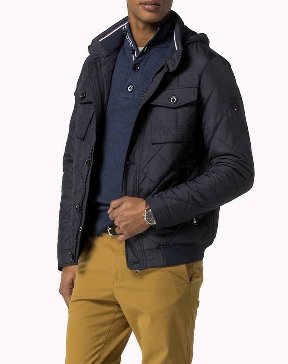 Tommy Hilfiger pánská tmavě modrá bunda 409bbfd2a96
