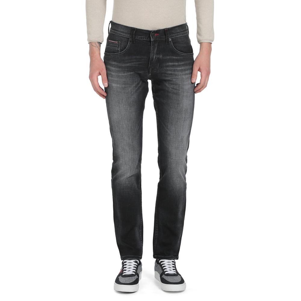 Levně Tommy Hilfiger pánské černé džíny Danton - 31/34 (1B2)