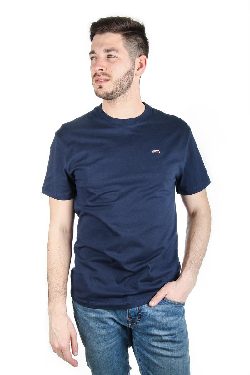 6e3d2335ed Tommy Hilfiger pánské tmavě modré tričko Tommy - Mode.cz