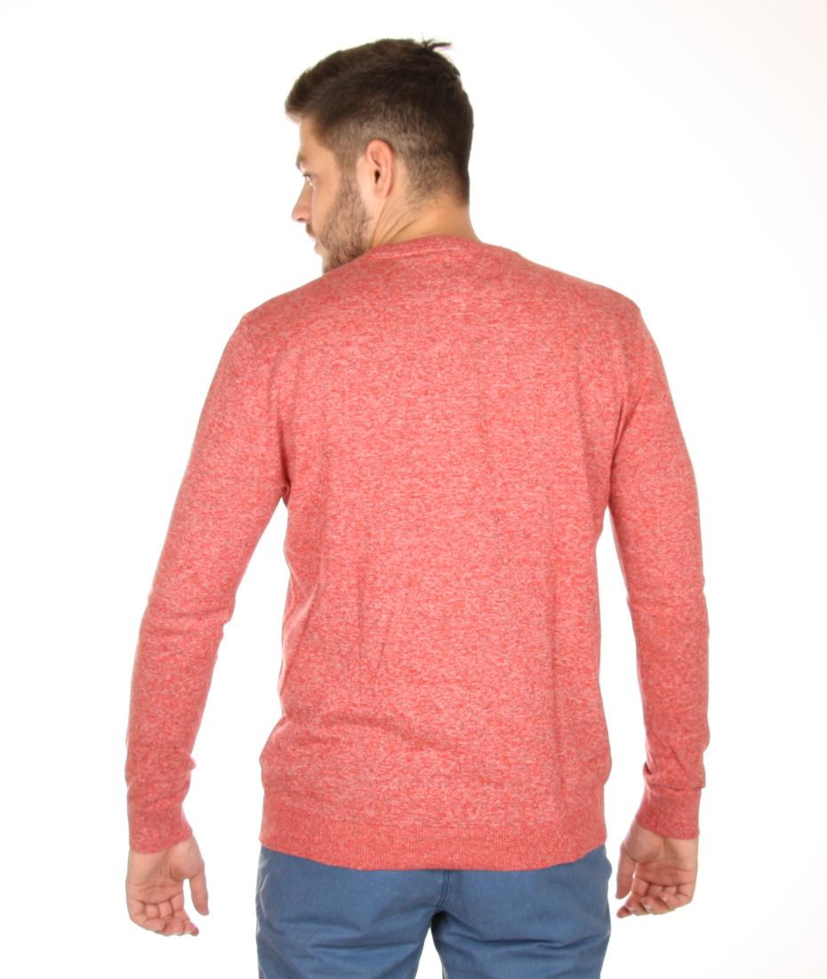 Tommy Hilfiger pánský červený svetr Basic - Mode.cz f0078278f38