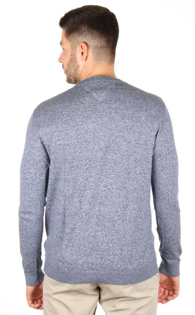 395151aa288 Tommy Hilfiger pánský modrý svetr Basic - Mode.cz