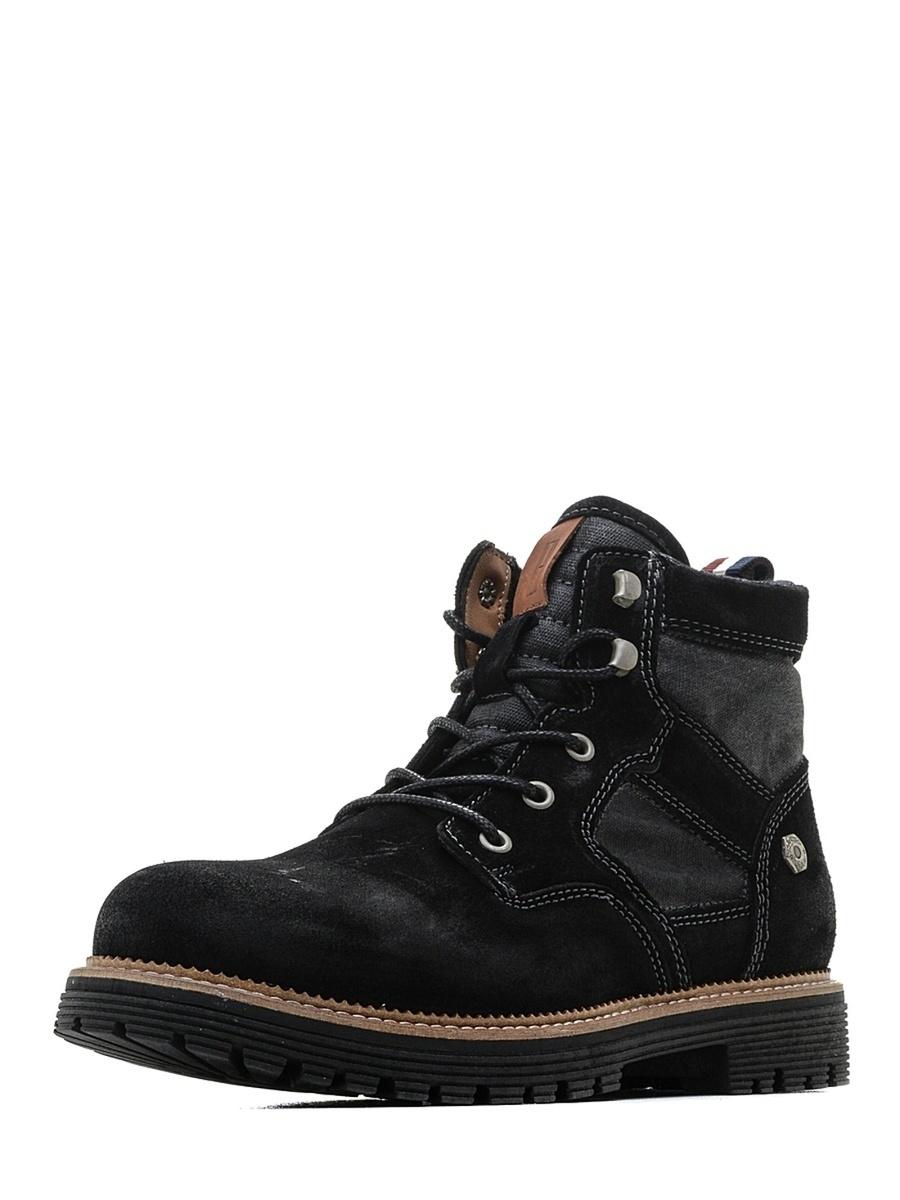 Tommy Hilfiger pánské černé kotníkové boty - Mode.cz b68be89fb17