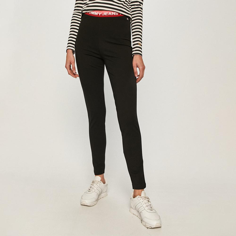 Tommy Jeans dámské černé legíny - S (BDS)